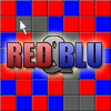 Red & Blu - A game where you have to make all of the colors in a row the same. This can be done by clicking each square or by clicking and dragging across multiple squares.For every square that you change the color, you get one point. For every row that you complete, you get 100 points and 1 second added to your time.