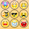Emoti Match - Pair up those cute, sad angry or cool emoticons and make your way through the 4 levels of the game.