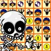 Halloween Puzzle - An addicting puzzle game where you can earn points by matching 3 or more of the same pictures in a row.