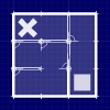 Open Doors - Simply move the square to the X. Moving through lots of doors along the way.